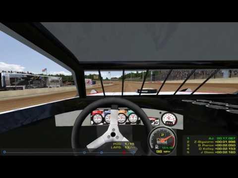 Running Eldora Speedway Like A Boss - Super Late Models - rFactor