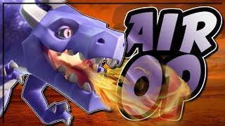 DRAGONS, BABY DRAGONS AND LOONS DOING AMAZING THINGS | Clash of Clans