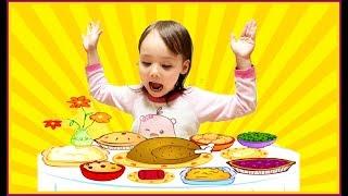 Чем кормят детей в корейских садиках? Лопух и ботва? :)