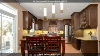 65 Chanonhouse Dr, Richmond K0A 2Z0, Ontario - Virtual Tour