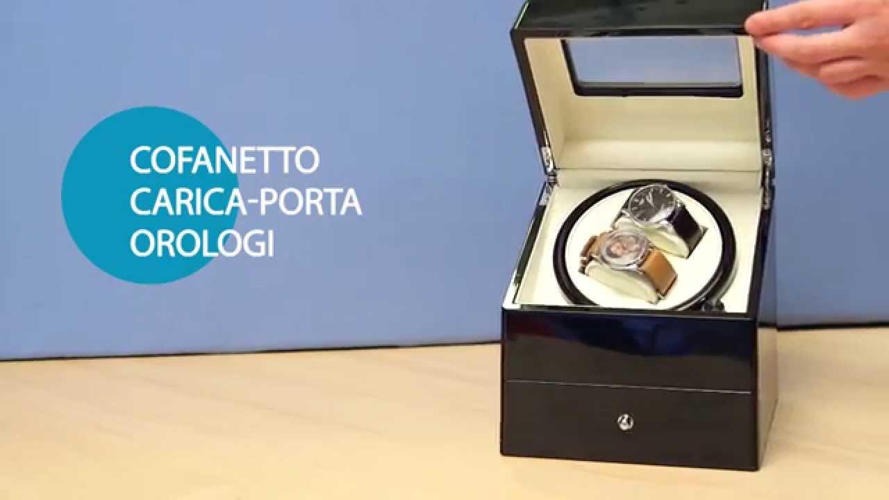 Cofanetto Carica Porta Orologi Youtube