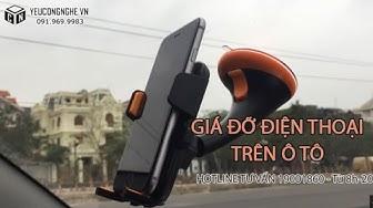 Giá đỡ điện thoại trên ô tô thao tác nhanh SP0319