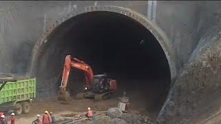 Terowongan Jalan Tol Cisumdawu Sumedang Terlebar Di Indonesia | Tunnel toll road widest in Indonesia