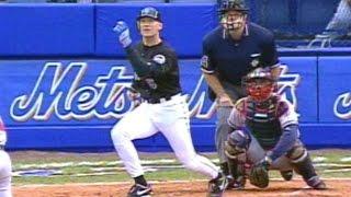 1999 NLCS Gm5: Olerud hits two-run homer off Maddux