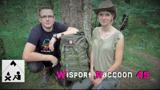 Wisport Raccoon 45 Liter Rucksack - Adventurestore - Rabattaktion  - Outdoor Bavaria Review HD / HQ