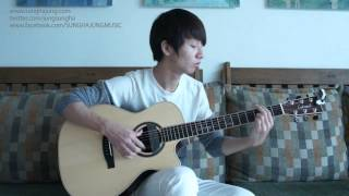 Video (G-Dragon) 삐딱하게 - Sungha Jung download MP3, 3GP, MP4, WEBM, AVI, FLV Mei 2018