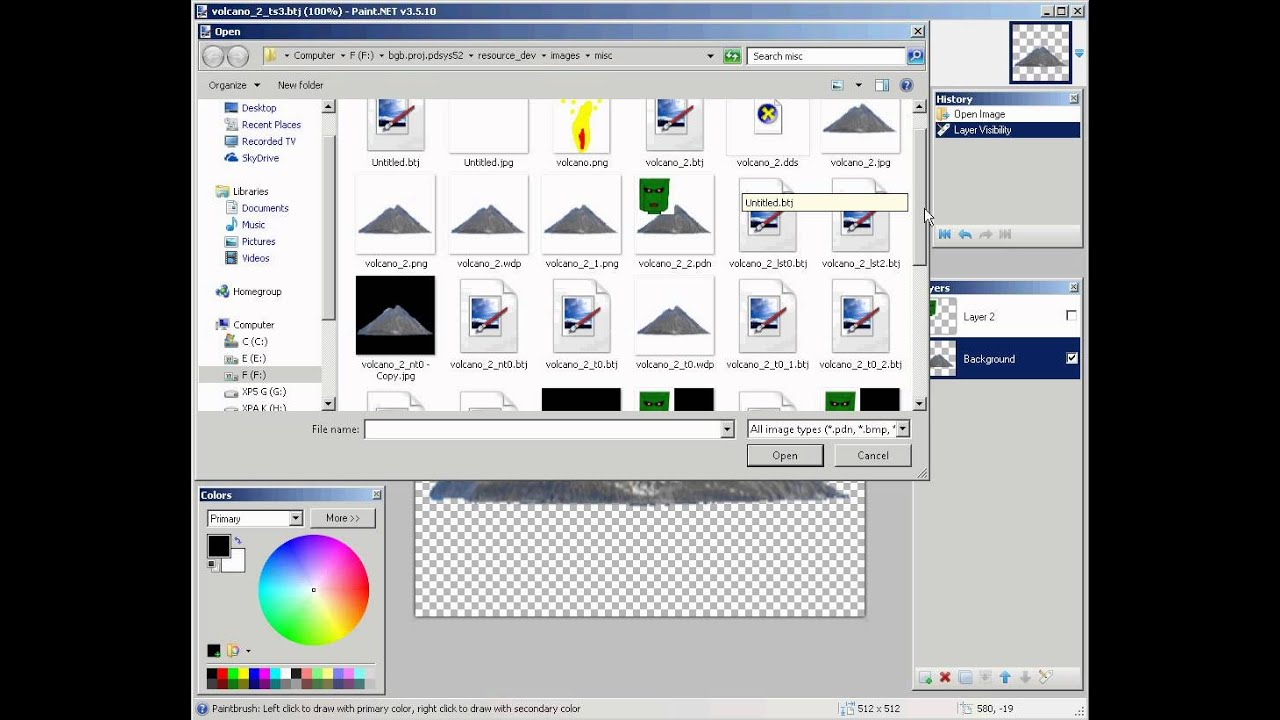 Bgbtech Jpeg Paint Net Plugin Quick Test