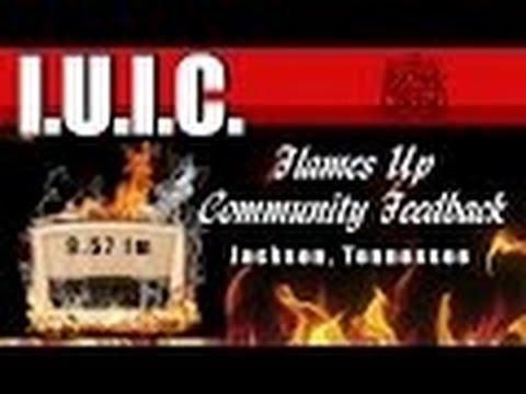 The Israeltes  I U I C  Tennessee Flames Up Radio Show Community Feedback, Jackson, Tn