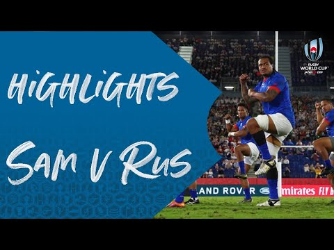 Highlights: Russia v Samoa - Rugby World Cup 2019