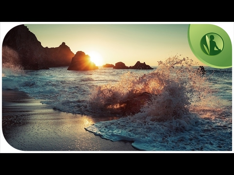 Sea waves with Instrumental Music for Relaxation and Meditation