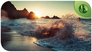 Ondas do Mar com Música Instrumental para Relaxar e Meditar, Musica para Dormir e Bem Estar