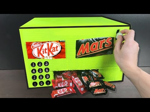 Thumbnail: HOW TO MAKE A CHOCOLATE VENDING MACHINE (HOMEMADE)