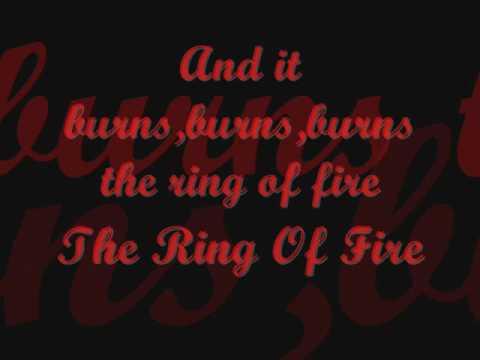 Ring of fire-Adam Lambert with lyrics