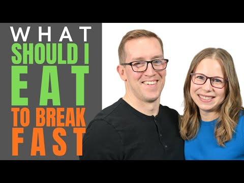 What Should I Eat To Break A Fast? | Keto Diet Tips with Health Coach Tara (& Jeremy)