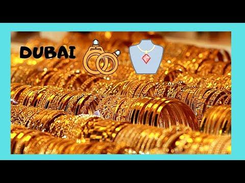 DUBAI: The GOLD SOUQ of DEIRA, United Arab Emirates