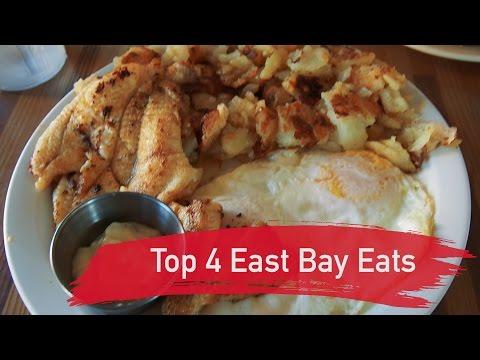 Top 4 East Bay Eats