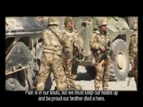 Romanian soldiers killed in Afghanistan in 2003 - in memory of our heroes