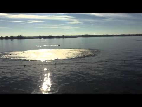 Rock Blasting on the Delaware River