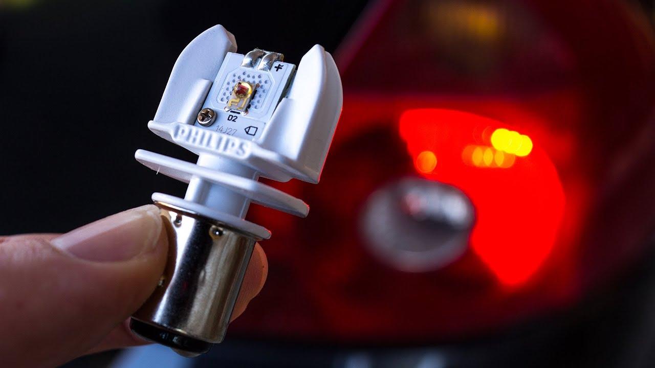 Red 1157 Light Bulbs