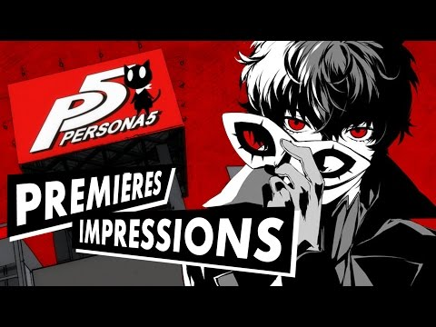 Persona 5 gameplay et présentation du JRPG