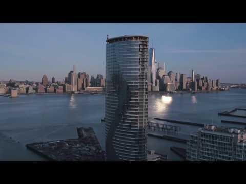 Ellipse Building Jersey City - Drone Video