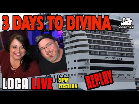 3 DAYS To DIVINA - Are We Ready? La Lido Loca Live 2/18/20