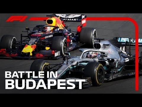 Hamilton And Verstappen's Thrilling Battle | 2019 Hungarian Grand Prix