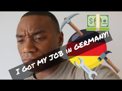 I got My Job in Germany !