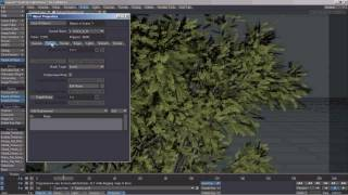 Tutorial: Tree animation in lightwave3d