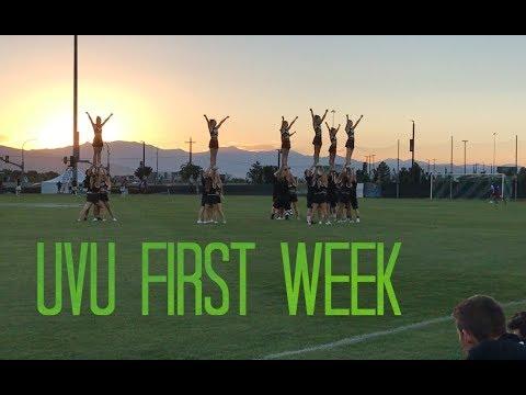 FIRST WEEK AT UVU!!