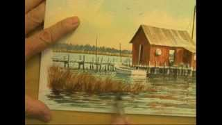 Watercolor Workshop Eps 12 Red Shed