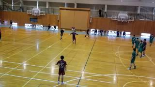 2019年04月21日 第74回国民体育大会ハンドボール競技長野大会  Nagano Yeti VS 如月クラブ 前半