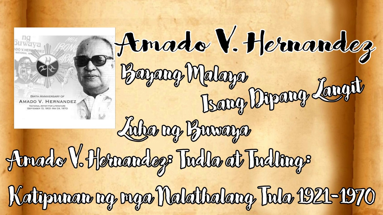 10 Canonical Authors of Philippines - Humanities Project