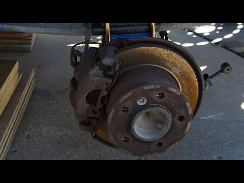 How To Replace Rear Brakes on T1N Mercedes Sprinter ZIMALETA Help