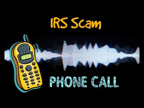 IRS scammers phone