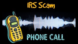 IRS scammers phone call