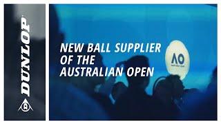 Breaking: Dunlop Official New Ball Supplier of the Australian Open
