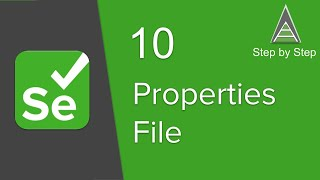 Selenium Beginner 10 - How To Use Config Properties File