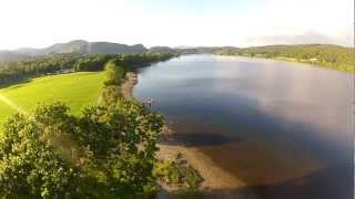 Park Coppice Coniston,from Y6 Hexacopter(CC)