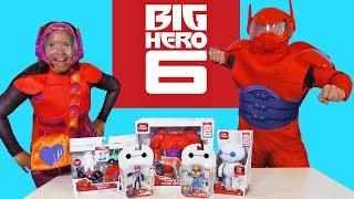 Великий герой 6 іграшки виклик мед, лимон і Беймакс.    Іграшки Огляд    Konas2002