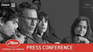 LE REDOUTABLE - Press Conference - EV - Cannes 2017