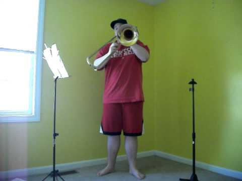 Sonata in F Minor For Trombone and Piano  Includes Bassoon or Baritone Telemann
