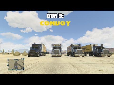 GTA 5 line: Truck Cvoy CW McCall HD