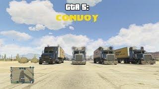 GTA 5 Online: Truck Convoy (C.W. McCall) (HD)