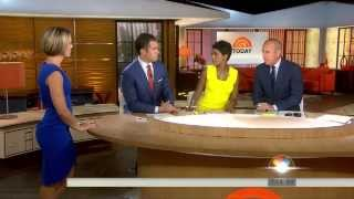 Dylan Dreyer - fantastic figure - slow motion - side view - July 2, 2014