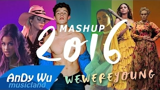 "MASHUP 2016 ""WE WERE YOUNG"" (Best 90 Pop Songs) - 2016 Year-End Mashup by #AnDyWuMUSICLAND"