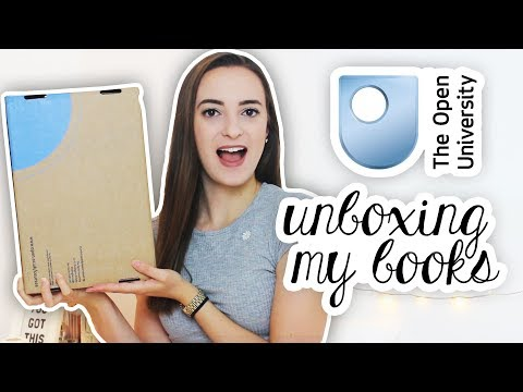 Unboxing My Open University Books | BSc Mathemathics and Physics