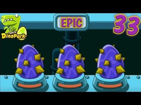 Repeat CRAZY DINO PARK - SO FUN HATCH THREE EPIC EGGS
