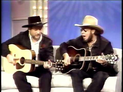 Nashville Now /w Waylon Jennings & Hank Jr. singing Mind Your Own Business & The Conversation