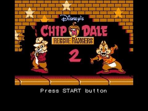 Эмоциональное прохождение - Чип и Дейл 2(Денди) Chip n Dale 2